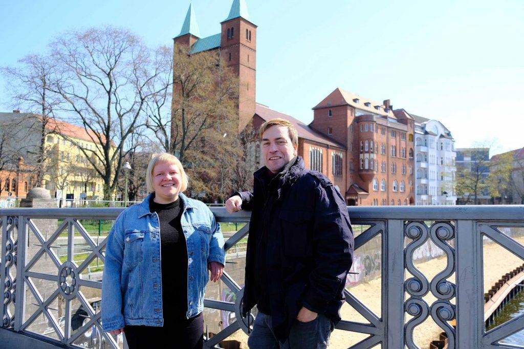 Rebekka Weinmann und Sascha Gebauer
