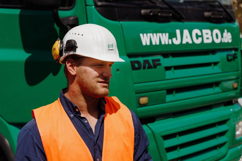 Georg Jobs von JACBO Pfahlgründungen GmbH