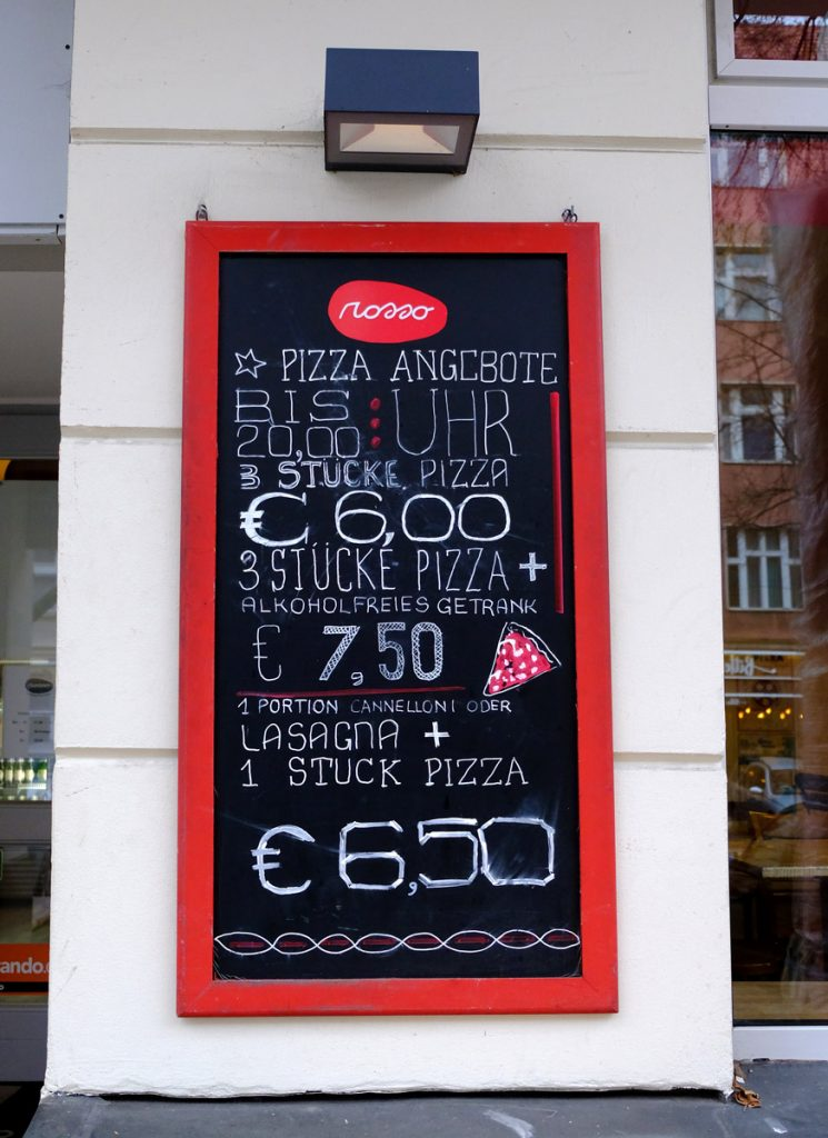 Pizza Rosso: Pizza Angebote